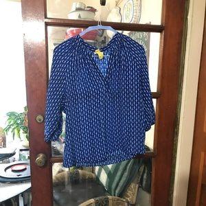 Joie Geometric Print Tunic Size Small